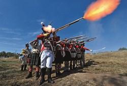 As batalhas das invasões Francesas têm sido recriadas em vários locais. Como no Vimeiro, Lourinhã