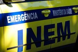 INEM esteve no local do acidente