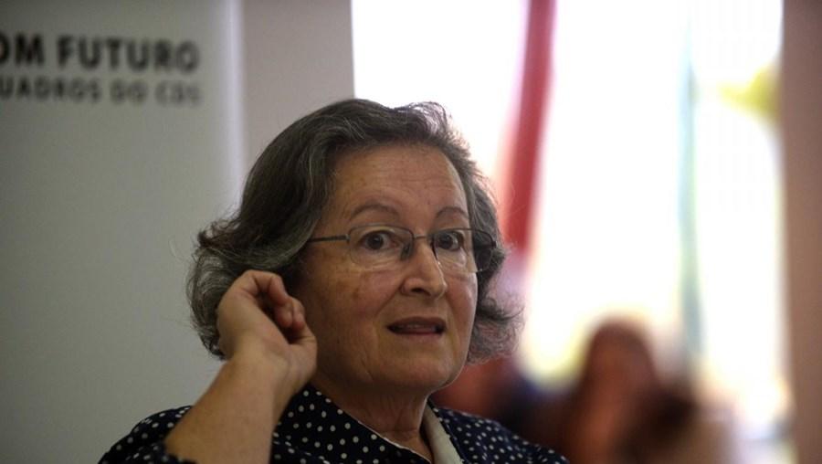 A antiga ministra da Educação Maria de Lurdes Rodrigues.