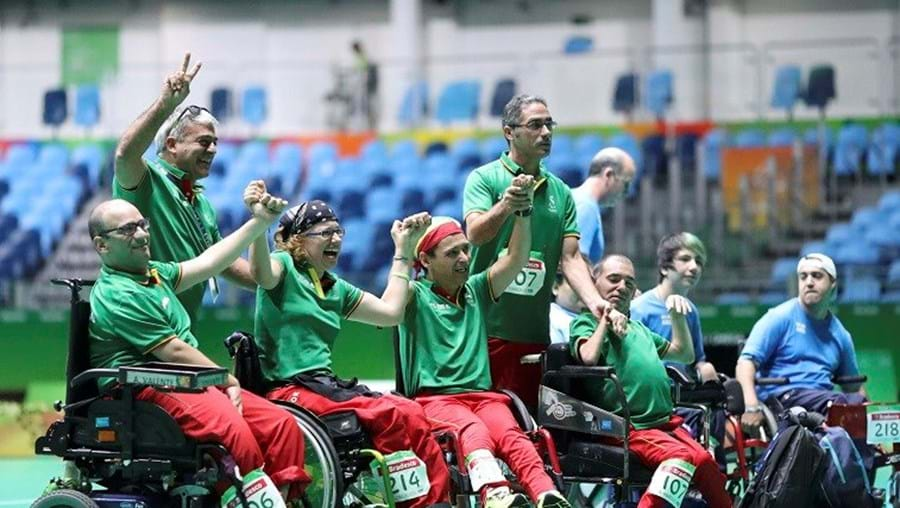 Portugal conquista prata na final do Europeu por equipas de boccia