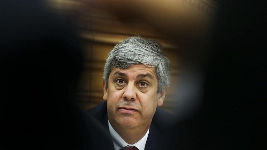 O ministro das Finanças Mário Centeno