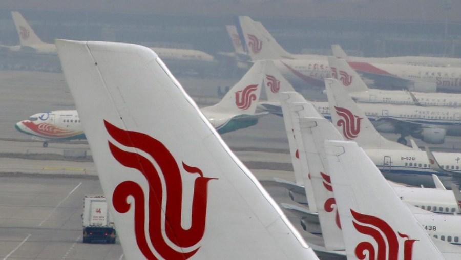 Mulher tentou parar um avião da Air China