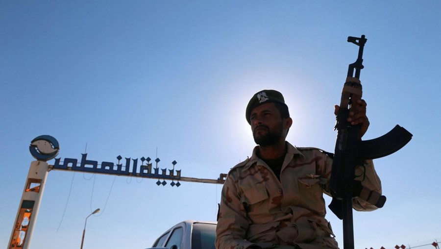 Membro das Forças especiais da Líbia