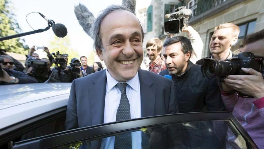 Ex-presidente da UEFA Michel Platini