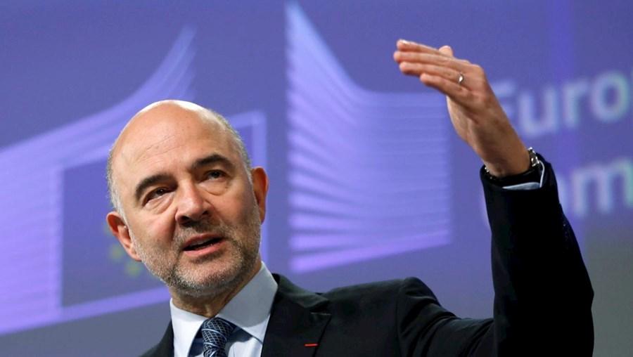 O comissário europeu dos Assuntos Económicos e Financeiros, Pierre Moscovici