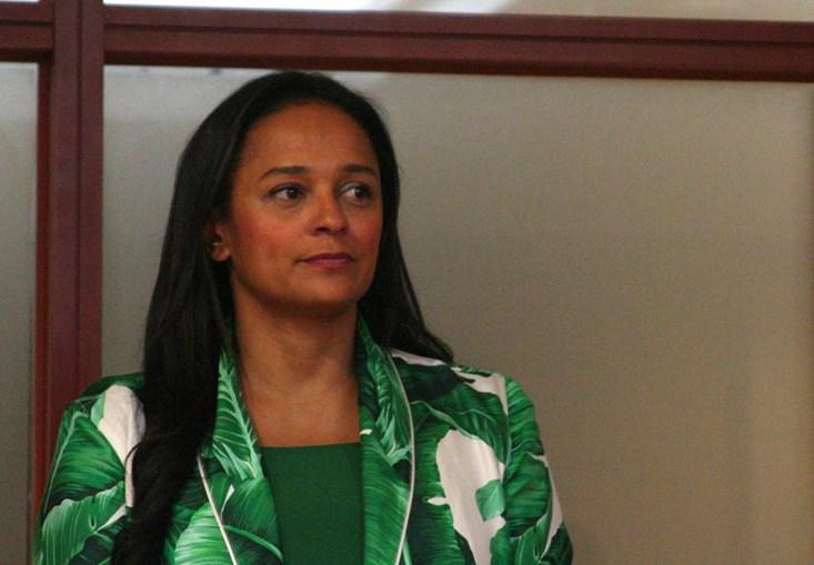A empresária angolana Isabel dos Santos