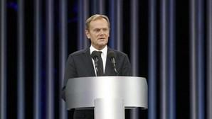 Tusk agradece solidariedade e confiança dos líderes da UE