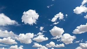 Céu limpo na maior parte do território português para esta segunda-feira
