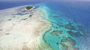 A Grande Barreira de Coral é uma das sete maravilhas naturais do mundo