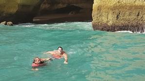 Turista preso em gruta do Algarve