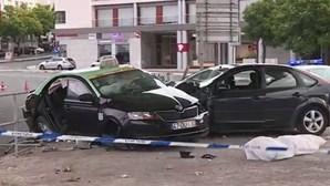 Colisão mata taxista em Algés