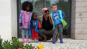 Beauté leva os filhos a Fátima