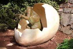 Estátua já havia sido vandalizada
