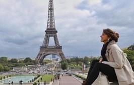 Sara Matos em Paris