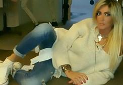 A cantora namorou com Tiago Ginga, após a separação com Bernardina Brito