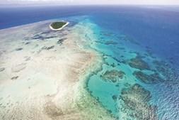 Vista geral da Grande Barreira de Coral