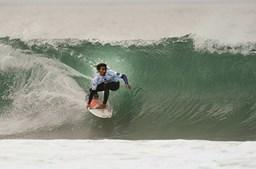 Miguel Blanco, 20 anos, na Praia dos Supertubos