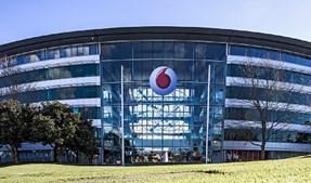 A empresa britânica de telecomunicações Vodafone