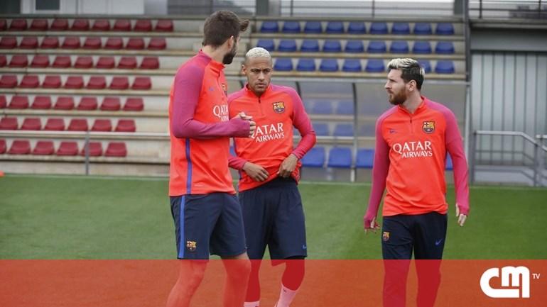 Messi está de volta aos treinos - Cm ao Minuto - Correio da Manhã 2376c07c8f04b