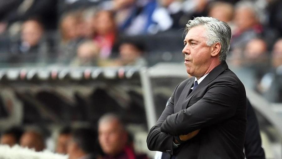 O treinador do Bayern Munique, Carlo Ancelotti