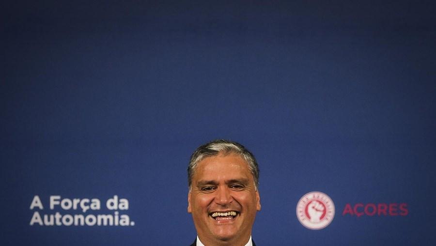 O presidente do PS/Açores, Vasco Cordeiro