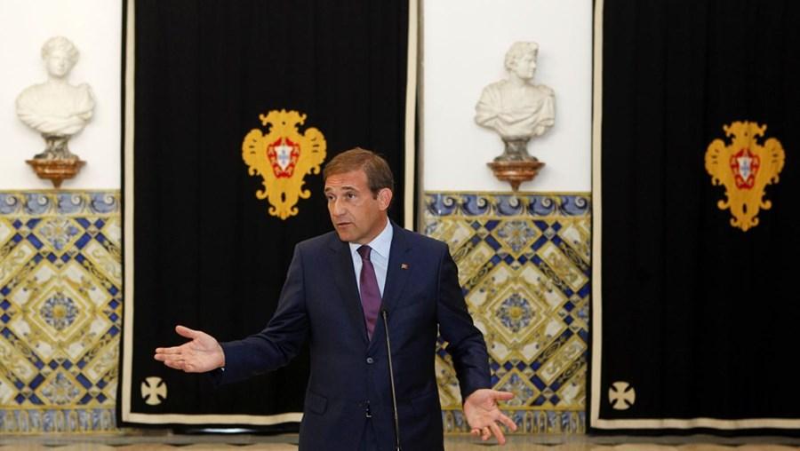 O presidente do PSD, Pedro Passos Coelho