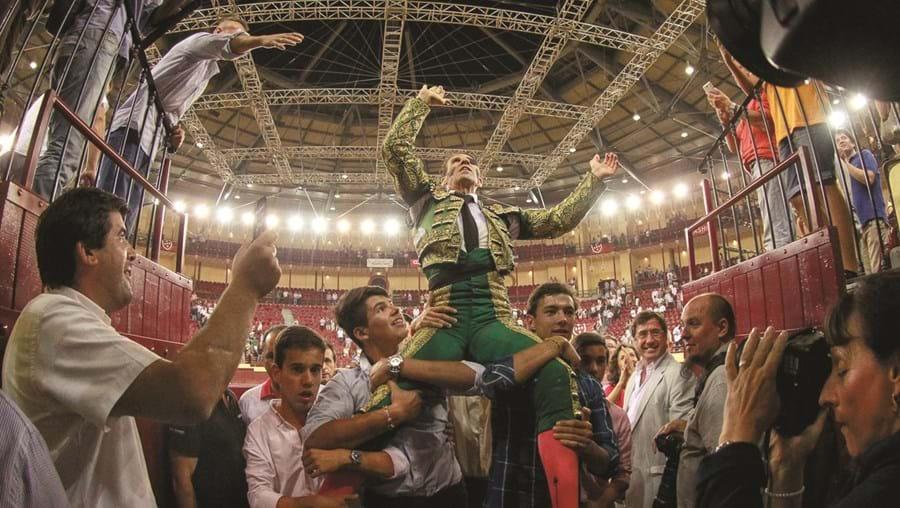 O matador de touros espanhol Juan José Padilla foi o grande triunfador da temporada 2016 da praça lisboeta