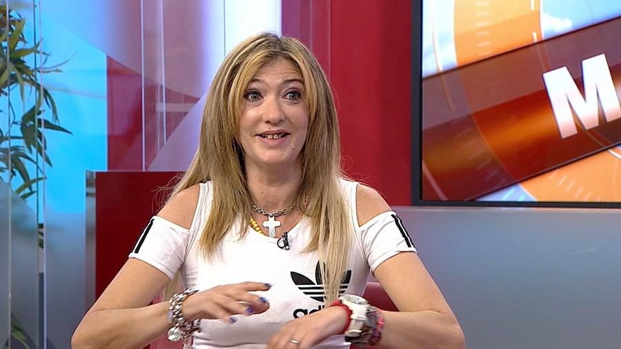 Maria Leal esteve no 'Manhã CM' da CMTV