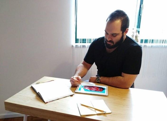Daniel Bacelar ficou em segundo lugar em concurso internacional de Design