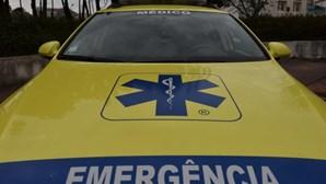 Colisão entre carro e camião na A28 em Viana do Castelo faz um ferido grave