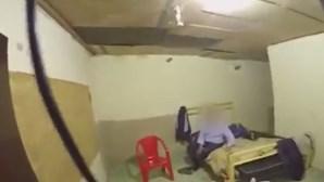 Polícia brasileira divulga vídeo da libertação empresário português