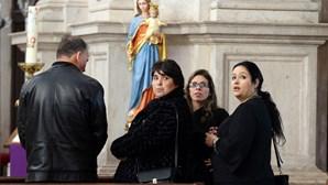 Emoção em missa por militar assassinado