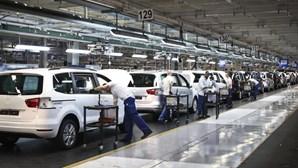 Produção automóvel em Portugal desce em outubro
