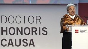 Guterres preocupado com a má gestão dos refugiados