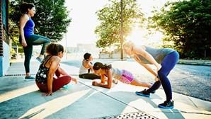 Evento de 'fitness' em Lisboa atrai praticantes e novatos