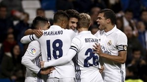 Real Madrid nos 'oitavos' da Taça do Rei