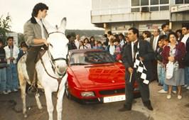 António Costa durante a iniciativa, em 1993