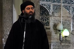 O líder do Daesh, Abu Bakr al-Baghdadi