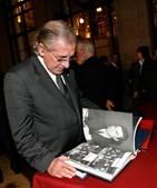 No lançamento da fotobiografia de Sá Carneiro, em 2006