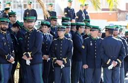 Militares da GNR na cerimónia