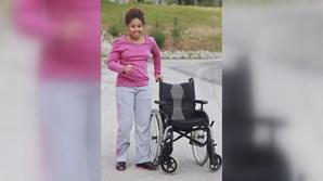 Armanda Leite sofreu graves sequelas físicas e mentais no acidente