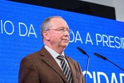 O presidente do Conselho Económico e Social (CES), Correia de Campos