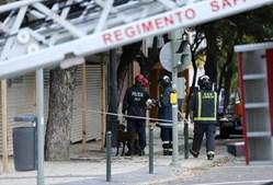 Derrocada ocorreu esta manhã, no centro de Lisboa