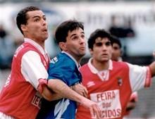 Em 1994 foi atleta do Belenenses