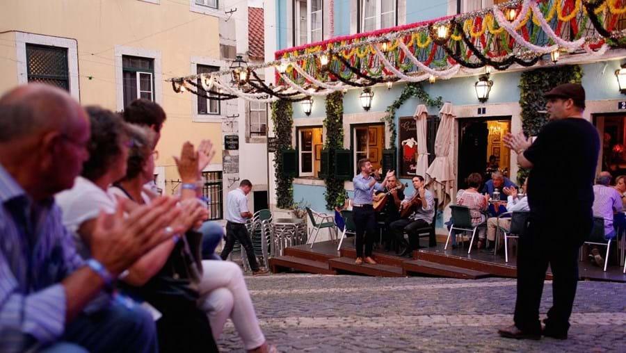Fado can be heard everywhere in Alfama
