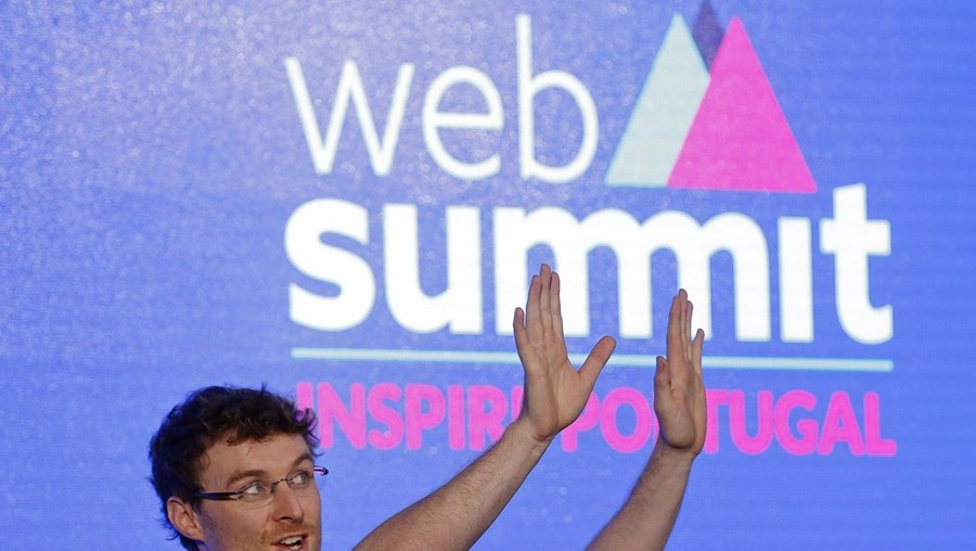 O presidente executivo da Web Summit, Paddy Cosgrav