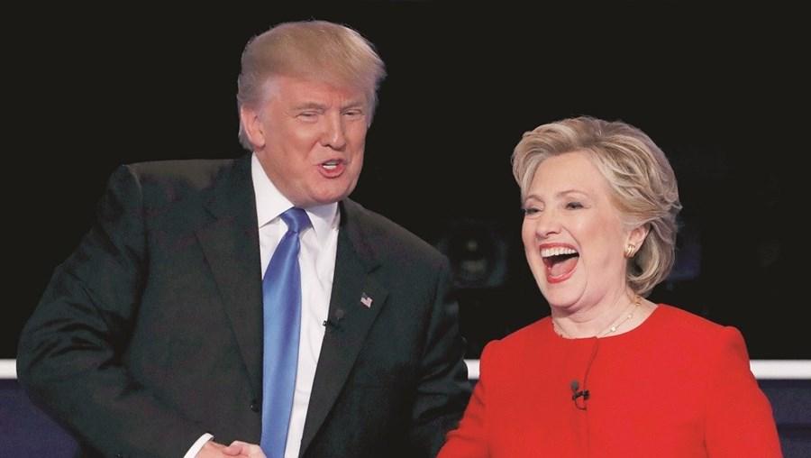 Após uma semana em queda, Hillary recuperou e lidera as últimas sondagens