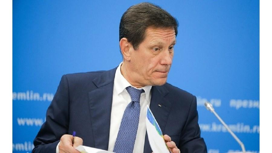 O presidente do Comité Olímpico Russo, Alexander Zhukov