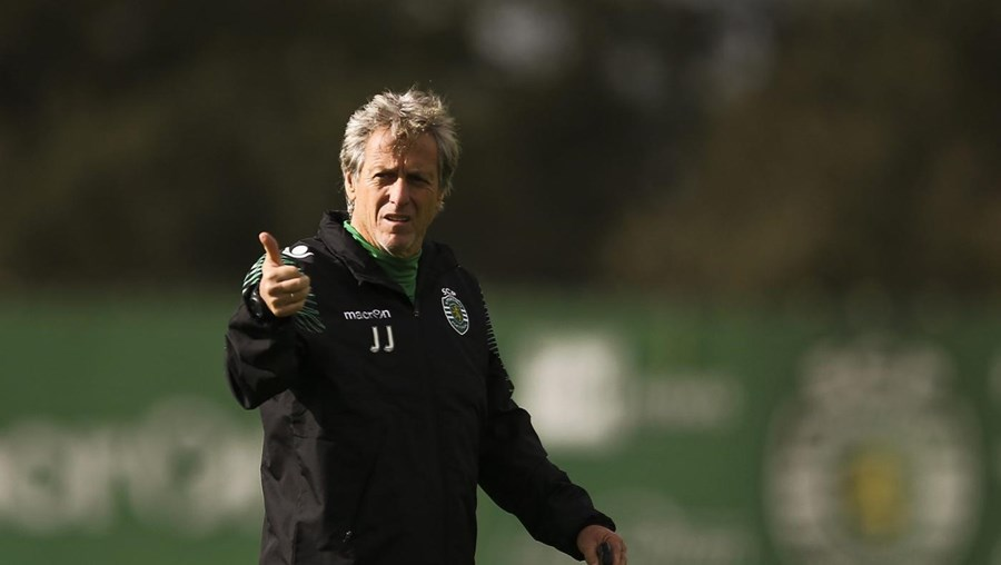 O treinador do Sporting, Jorge Jesus