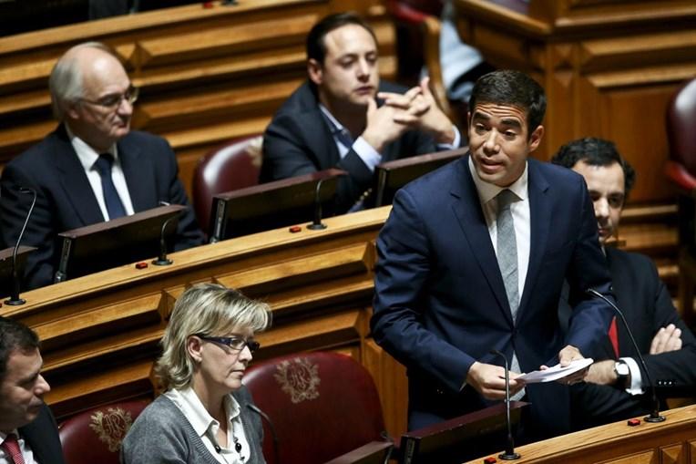 O deputado do PSD, Leitão Amaro